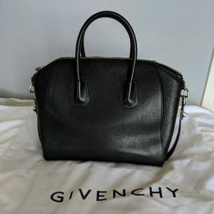 Givenchy Leather Satchel Givenchy Antigona Medium